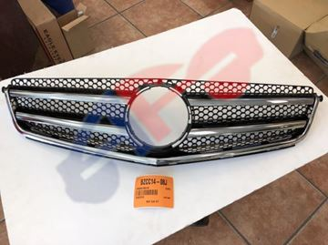 Picture of GRILLE 08-11 W/AMG AND C63 C-CLASS
