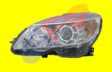 Picture of HEAD LAMP 08-11 LH HALOGEN CHR C-CLASS