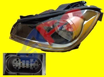 Picture of HEAD LAMP 12-14 LH HAG W/O AMG BLK C-CLASS SD/CP