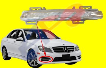 Picture of DAYTIME RUNNING LAMP 12-14 RH SDN/11-15 CPE C-CLASS/E CLASS SDN/HYBRID/SLK CLASS