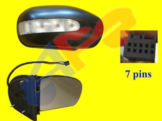 Picture of MIRROR 01-07 RH PWR HT W/SIGNAL (7-PIN) BZ C-CLASS