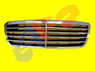 Picture of GRILLE 00-02 CHR/BLK E-CLASS