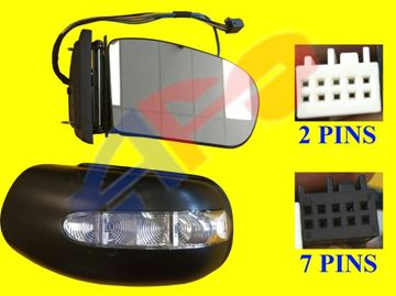 Picture of MIRROR 03-06 RH SDN PWR HT W/SIGNAL & PUDDLE (9-PIN) BZ E-CLASS (04-09 WGN)