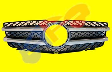 Picture of GRILLE 10-15 W/2-CHR-MLDG GLK-CLASS