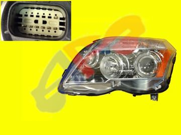 Picture of HEAD LAMP 10-12 LH HALOGEN GLK-CLASS