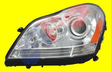 Picture of HEAD LAMP 07-12 LH GL-CLASS