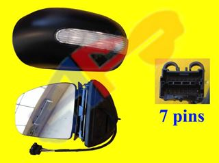 Picture of MIRROR 02-05 LH PWR HT W/SIGNAL (7-PIN) BZ M-CLASS
