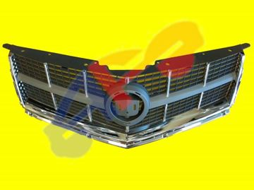 Picture of GRILLE 10-12 W/CHR MOULDING SRX