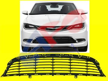 Picture of BUM GRILLE 15-16 LOWER W/O CRUISE CTRL 200 OEM