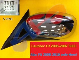 Picture of MIRROR 06-09 LH CHR PWR HT NON-FOLD 300/05-08 MAGNUM/08-08 CHARGER