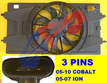 Picture of FAN ASSY 05-10 2.2/2.4L SING COBALT