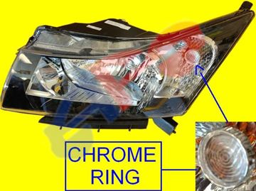 Picture of HEAD LAMP 11-15 LH CRUZE
