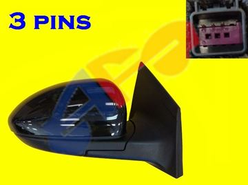 Picture of MIRROR 11-15 RH PTD PWR MAN-FOLD CRUZE/16-16 CRUZE LIMITED