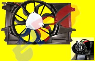 Picture of FAN ASSY 16-16 1.4L TURBO AT SDN CRUZE
