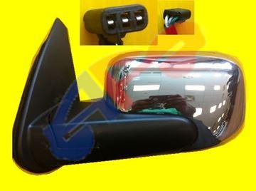 Picture of MIRROR 06-11 LH BRIGHT CHR PWR MAN-FOLD HHR