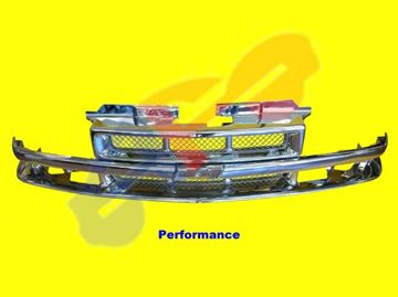 Picture of GRILLE 98-03 BASE ALL-CHROME S10/