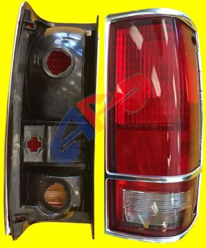 Picture of TAIL LAMP 83-94 RH W/CHR TRIM BLAZER