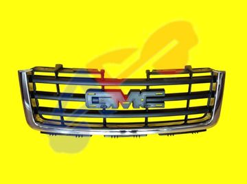 Picture of GRILLE 07-13 CHR W/BAR 1500 SIERRA