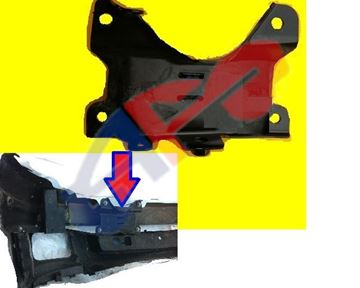 Picture of BRACKET 07-13 FT RH BRACE BUM OUTER SUPPORT 1500 SILVERADO