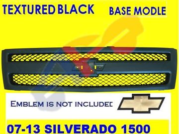 Picture of GRILLE 07-11 TEXT-BK 1500 SILVERADO (12-13 HYBRID)