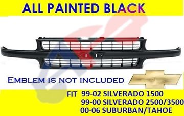 Picture of GRILLE 00-06 PTD SMOOTH SUBRBN/TAHO
