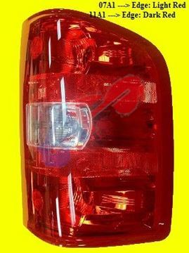 Picture of TAIL LAMP 07-13 RH 1ST DESIGN (07-14 HD) SILVERADO