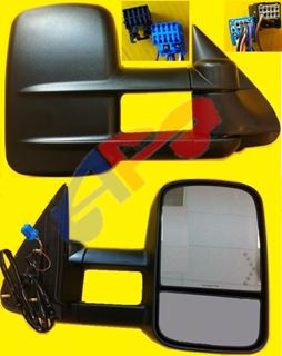 Picture of MIRROR 03-06 RH PW HT TOWING DOUBLE GLASS W/SIG IN GLASS SILVER/SIERA