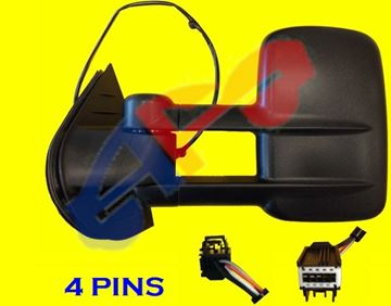 Picture of MIRROR 07-14 LH TXT PWR HT MAN-FOLD TOWING SILVERADO