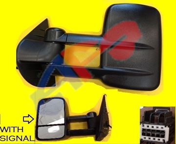 Picture of MIRROR 07-13 LH TXT PWR HT SIGNAL-ON-GLASS MAN-FOLD TOWING SILVERADO/SIERRA