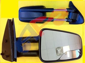 Picture of MIRROR 99-06 RH TXT MAN W/SPOT-GLASS CAMPER-STYLE SIVLERAD/SIERA