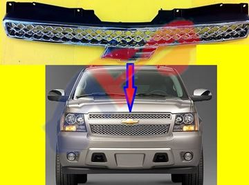 Picture of GRILLE 08-14 UPP W/OFF RD ALL-CHR