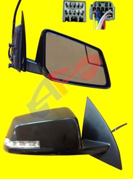 Picture of MIRROR 09-17 RH PTD PWR HT W/SIG W/BSD MAN-FOLD TRAVERSE/07-16 ACADIA/17 ACADIA LIMITED/07-10 OUTLOOK