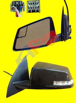 Picture of MIRROR 09-17 LH PTD PWR HT W/SIG W/BSD MAN-FOLD TRAVERSE/07-16 ACADIA/17 ACADIA LIMITED/07-10 OUTLOOK
