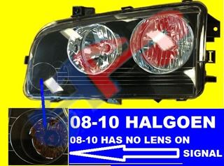Picture of HEAD LAMP 06-10 LH HALOGEN CHARGER