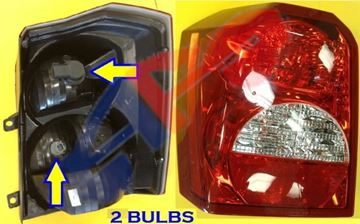 Picture of TAIL LAMP 08-12 LH CALIBER