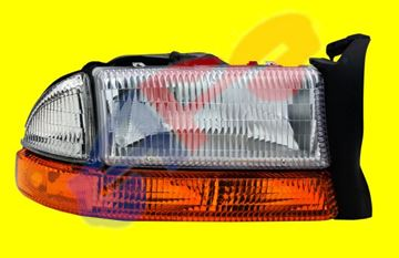 Picture of HEAD LAMP 97-04 RH W/PARK SIGNAL DAKOTA/98-03 DURANGO