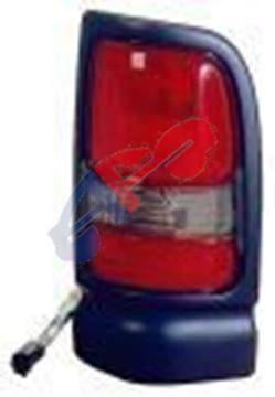 Picture of TAIL LAMP 94-01 LH BLACK W/SPRT DGTRUC