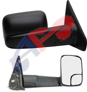 Picture of MIRROR 02-08 RH TXT MAN TOWING W/CURVED-ARM-COVER-SEAM TOWING 1500/03-09 2500/3500 DG TRUCK