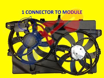 Picture of COOLING FAN 07-14 3.5L/3.7L W/O TOW EDGE/07-15 MKX