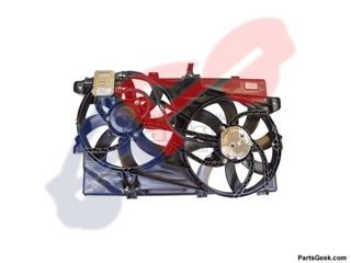 Picture of FAN ASSY 10-14 3.5L/3.7L (FROM 5-5-09) W/TOW EDGE