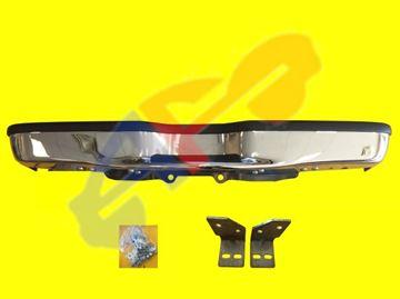 Picture of STEP BUM 98-01 RR CHR W/BLK PAD EXPLORER