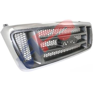 Picture of GRILLE 04-08 BAR-TYPE CHR/BLK-TXT