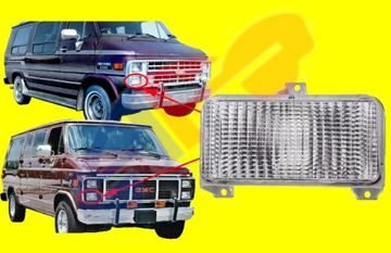 Picture of PARKING SIGNAL LAMP 83-91 RH=LH SEAL BEAM CHVAN