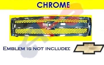 Picture of GRILLE 07-13 ALL-CHR 1500 SILVERADO