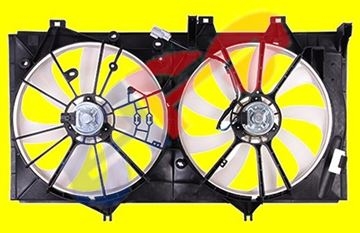 Picture of FAN ASSY DUAL 2.5L 12-16 CAMRY