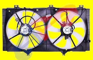 Picture of COOLING FAN 09-15 W/O TOWING DUAL 2.7L VENZA/10-11 4CYL AT CAMRY