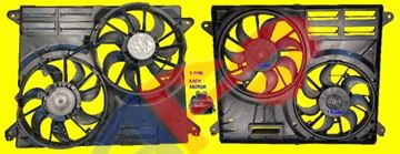 Picture of COOLING FAN 15-20 W/O TOWING EDGE/MKX