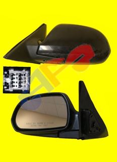 Picture of MIRROR 01-06 LH PTD PWR HT MAN-FOLD ELANTRA