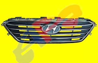 Picture of GRILLE 15-17(N-HYBRID) SLV STD W/O CRUISE SONATA
